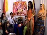 Sexy Indian Dancer Anal Fucked On Private Home Party By Rich Guy