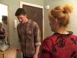 Russian Aunt Fuck Husbands Nephew Who Come In Visit From Other Town