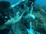 Amateur Tourists Deep Sea Scuba Fucking