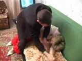 Stepson and his Friend Forced Russian Stepmom on Sex