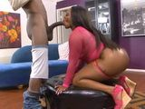 Big Ass Ebony Fucked By Long Shlong