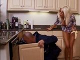 Sinful Big Boobed Housewife Wanted To Be Handy To A Plumber