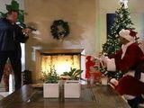 Busty Santa Helper Gets Rewarded Well For Saving Santas Life