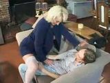 Boy Was In Shock When Friends Divorced Mature Mom Sits On His Cock