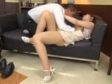 Milf Housewife Yui Hatano Swooped and Molested By Her Brother In Law