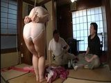 Kinky Husband And His Friend Humiliated Badly Chubby Housewife