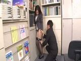 Japanese Girl Attacked And Fucked In Her Office