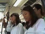 Poor Schoolgirl Molested By Nasty Passangers In The Bus