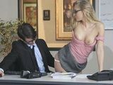 Staci Carr in Glasses Fucked on the Desk