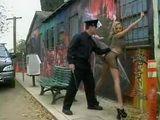 Police Officer Molesting Hooker On The Street
