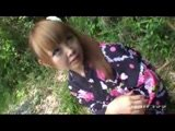 Japanese Teen Peeing Outdoor and Anal Fuck