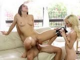 Brutal Threesome With My Stepsister And Her Finace