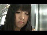 Japanese Schoolgirl Kotomi Asakura Groped in the Subway