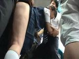 Japanese Teen Gets Gangbanged In A Public Bus By Bunch Of Horny Idiots