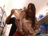 Busty Japanese Girl Gets Attacked And  Fucked In A Supermarket