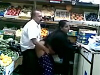 Fruit Shop Owner Having Quicky Sex With Customer In His Shop
