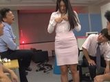 Blackmailed Collegue With Her Naked Pictures Fucked By Office Guys  Sho Nishino