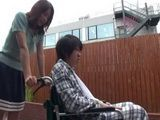 Helpless Son In a Wheel Chair Will Ask Mother For a Favor