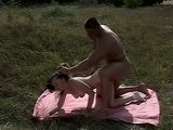Anal Ass Destruction Of Young Girl In The Meadow