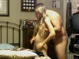 Young Blonde Girl Riding Dick And Fucked From Behind