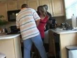 Naughty Housewife Violated And Brutally Fucked In Her Own House