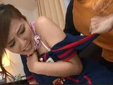 Creepy Neighbor Lured Into Trap MILF Yuna Shiina And Took Advantage Of Her While She Was Alone And Unprotected