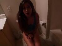Ashamed Stepsis Cant Get Her Stepbro Out Of The Bathroom