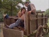 Village Wife Gets Fucked On A Wagon In Both Holes