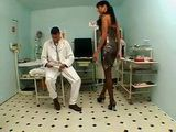 Rectal Examination At Doctores Office Ends Up With Anal